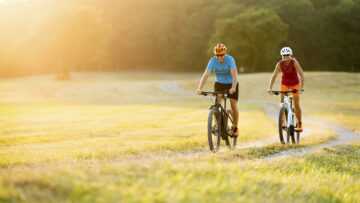 Fahrradfahren statt Laufen